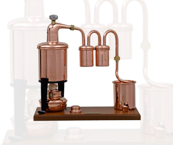 Pequenos Utensilios de Destilacao